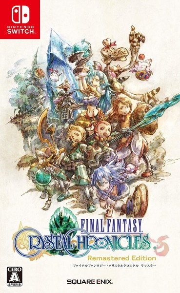 Nintendo Switch Final Fantasy Crystal Chronicles Remaster (Japan Import)